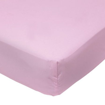 Baby Boom - Mix 'N Match Solid Fitted Crib Sheet, Pink