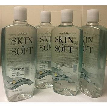Avon Skin so Soft Original Bath Oil 25 oz lot of 4