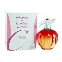 Delices De Cartier Eau Fruitee by Cartier For Women. Eau De Toilette Spray 3.3 Ounce