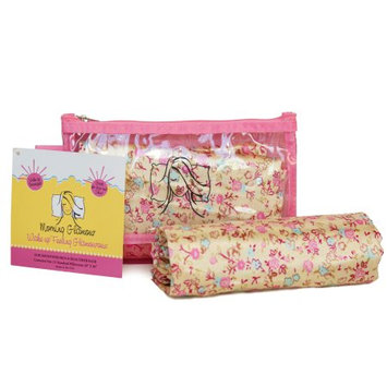 Morning Glamour Pillowcase and Travel Bag Set Floral