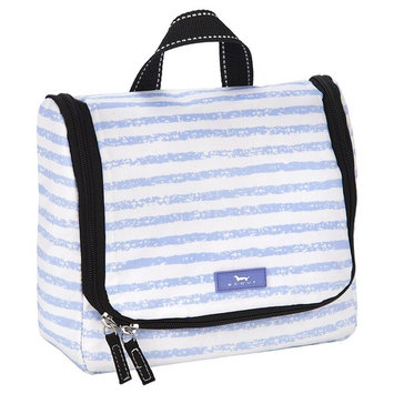 SCOUT RINSE & REPEAT Hanging Toiletry Bag for Women, Water Resistant Travel Cosmetic and Toiletries Organizer with Zipper Closure (Multiple Patterns Available)