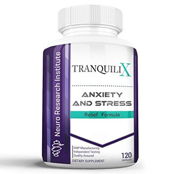 Neuro Research Institute TranquiliX, Anxiety Relief & Stress Relief Supplement, 120ct