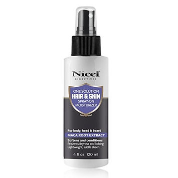 Nicel One Solution Hair and Skin Spray-on Moisturizer, 4 oz.