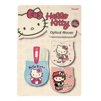 Sakar Hello Kitty Mouse - Optical - Cable - USB - Scroll Wheel