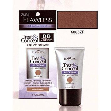 Zuri Flawless Treat & Conceal BB Cream 8-in-1 Skin Perfector - Medium/Dark