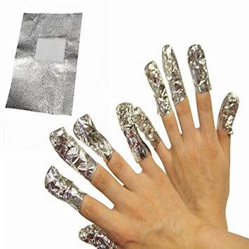200pcs Nail Art Soak Off Nail Polish UV Gel Foil Remover Wraps Remover Pads Remover Wipes