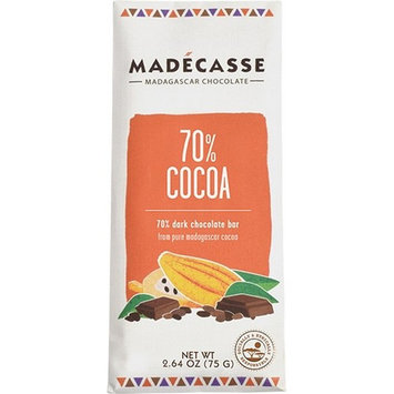 Madecasse Discs,Drk Choc,70% Cocoa 10 Oz (Pack Of 10)