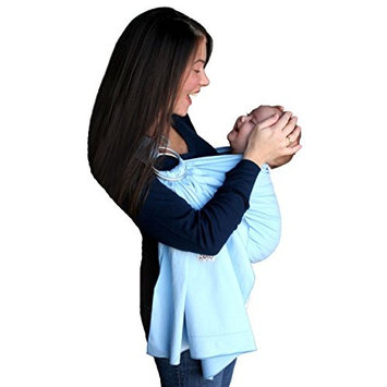 ZoloWear Baby Sling: Sky, Medium