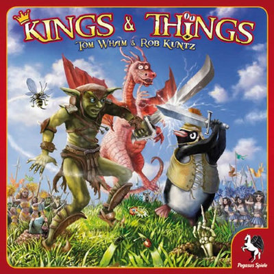 Kings and Things Board Game Z-Man Games