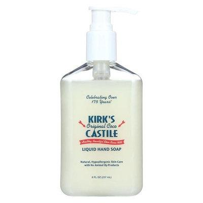 Kirk's Natural Liquid Hand Soap - Case of 1-8 oz.