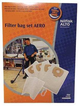 NILFISK-ALTO 302002404 Bag Set, HEPA Efficiency
