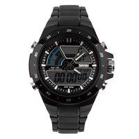 Men's Dual Time Zones Analog Digital Waterproof Luminous Wrist Watch On Sale
