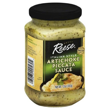 Reese's Reese 275274 12 oz Artichoke Piccatta Sauce Pack of 6
