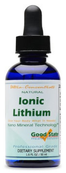 Good State Liquid Ionic Lithium Ultra Concentrate - 10 Drops Equals 500 Mcg - 100 Servings Per Bottle