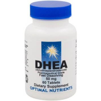 DHEA 50 MG (60 Sublingual Tablets) by Optimal Nutrients at the Vitamin Shoppe