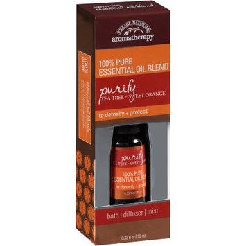 Village Naturals Spa Aromatherapy Detoxify Tea Tree & Sweet Orange Essential Oil