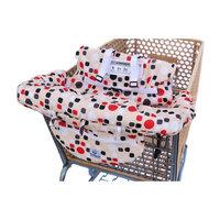 Grocery Shopping Cart Baby Seat Cover, Restaurant High Chair - Insert Cushion Holder for Boys, Girls, Infants, Toddler