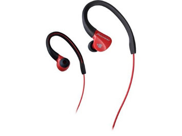 Pioneer E3 Ironman Sport Earbuds - Red