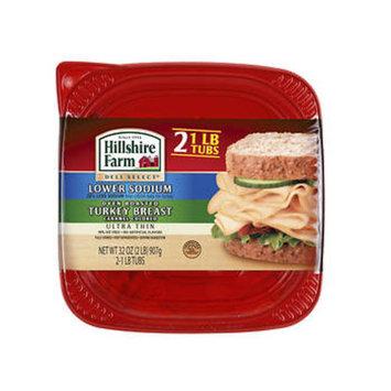 Hillshire Farm Thin Sliced Lower Sodium Oven Roasted Turkey Breast, 16 oz., 2 ct.