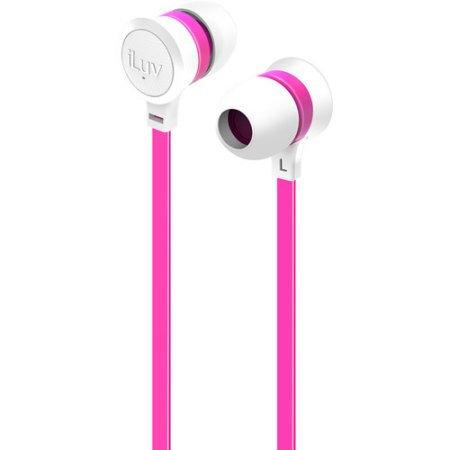 iLuv IEP334WPKN Neon Sound Earphones Accs