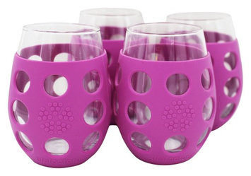 Wine Glass Huckleberry Lifefactory 4/pk 11 oz Glass