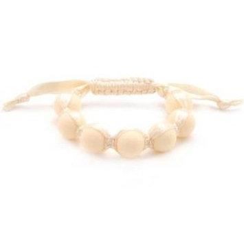 Chewbeads Cornelia Teething Bracelet, 100% Safe Silicone - Ivory