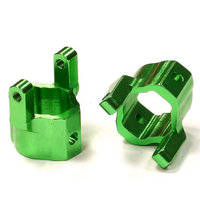 INTEGY C24568GREEN Alloy Castor Block SCX-10 Honcho/Dingo INTC2761 INTC2761 INTEGY INC.