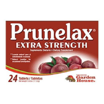 Prunelax Natural Laxative Extra Strength Tablets - 24 Ea