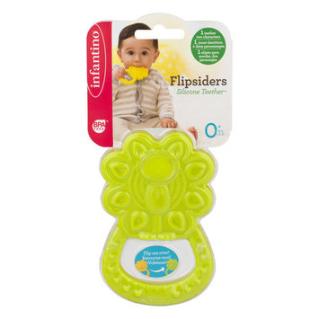 Infantino Flipsiders Silicone Teether, 1.0 CT