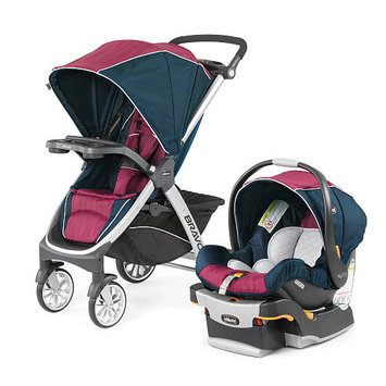Chicco Bravo Trio Travel System Stroller - Blackberry