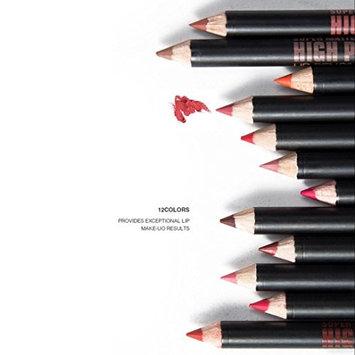 DZT1968 12pcs/Set Women Waterproof Lip Liner Pencil Long Lasting Natural Lipliner Makeup Tools