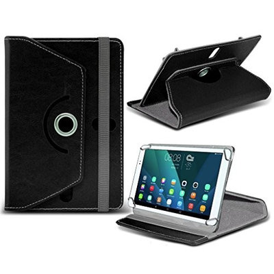 (Black) neoCore N1 [ 10.1 inch ] Case [Stand Cover] for neoCore N1 [ 10.1 inch ] Tablet PC Case Cover [Stand Cover] Durable Synthetic PU Leather 360 Roatating cover Case [Stand Cover] with 4 springs by i- Tronixs