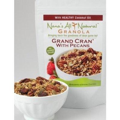 Nana's All Natural - Grand Cran' With Pecans - 12 Oz Granola