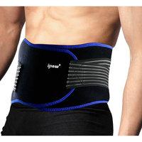 Gimars Adjustable Back Brace Mesh Lower Back Pain Relief Lumbar Support Brace Belt Wrap for Men & Women Treatment of Sciatica, Scoliosis, Degenerative Disc Disease