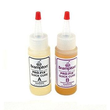 Brampton Technology Pro-Fix 5 &15 Quick Cure Epoxy (2-Ounce Bottles)