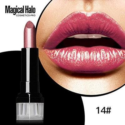 Hot Sales! DEESEE(TM) Lipstick Frosted Moisturizing Lipstick Waterproof Lip Gloss Cosmetics