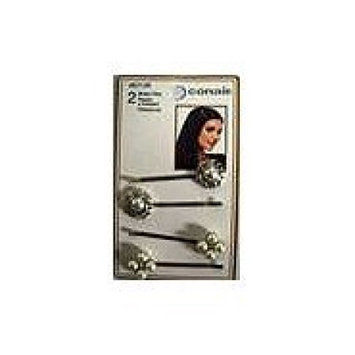 Crystal Hair Accessory, Bobby Pins, 4 Pack - CONAIR CORPORATION