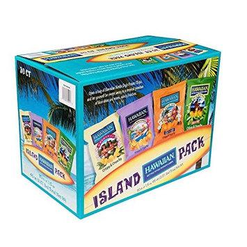 Hawaiian Potato Chips, Island Pack, Variety Pack, 1.5 oz, 30 ct