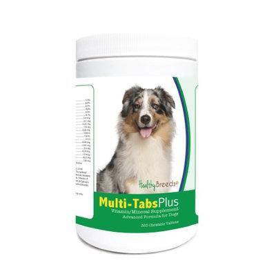 Healthy Breeds 840235121800 Australian Shepherd Multi-Tabs Plus Chewable Tablets - 365 Count