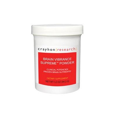 Crayhon Research Brain Vibrance Supreme Powder 3.3 oz