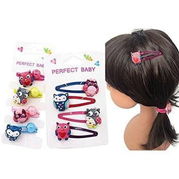 Lovely Animal Hair Clip Cartoon Owl,Cartoon Elastic Hair Ties Girls' Hair ropes Kids Ponytail Holder