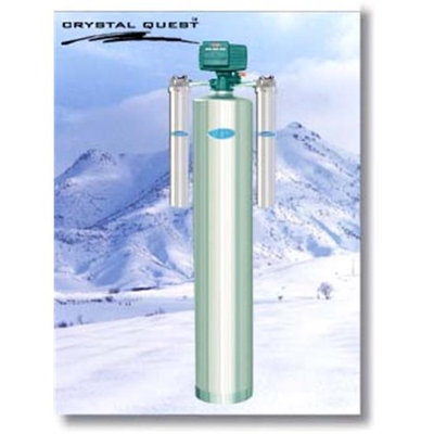 Crystal Quest CQE-WH-01121 Whole House 2.0 Automatic Backwash Water Filter System
