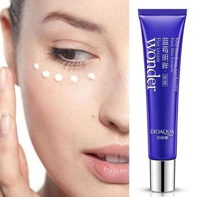 BIOAQUA Blueberry Anti-Wrinkle Anti-aging Dark Circle Remover Moisturizer Firming Eye Cream