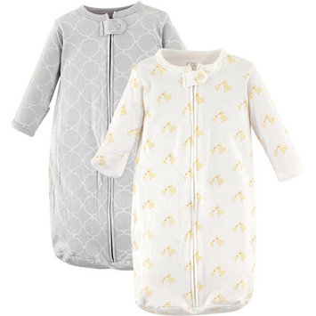 Hudson Baby Boy and Girl Cotton Sleeping Bag, 2 Pack - Yellow Duck