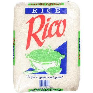 Rico: Long Grain Rice, 20 Lb