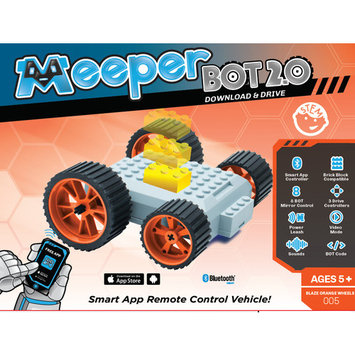 Meeper MB005, meeperBOT 2.0 - Blaze Orange, Remote-Control BOT with Free Controller App, meeperBOT 2.0