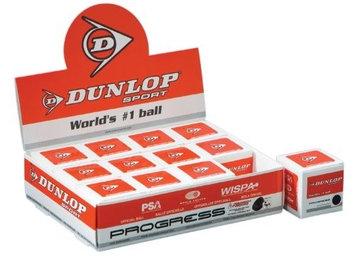 Jim Dunlop Dunlop Sports Max Progress Squash Ball (Dozen Pack)