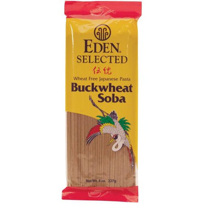 Eden Selected Buckwheat Soba Pasta, 8 oz, (Pack of 4)