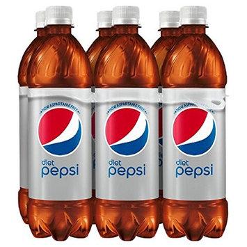 Diet Pepsi 16 Oz Bottles (6 Pack)
