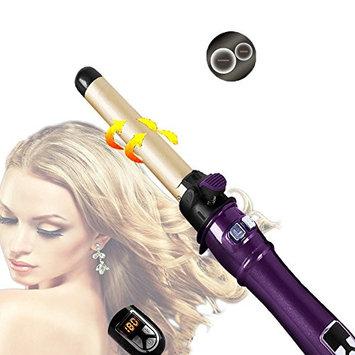 Vieschen Auto Hair Curler 360 Degree Rotation Titanium Styling Iron Digital Temperature Controller Ceramic Hair Tool